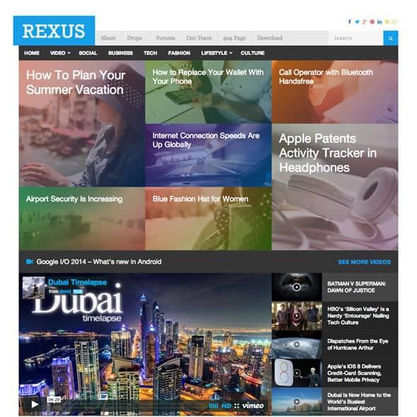 rexus theme review