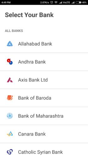 how to send money by bhim app