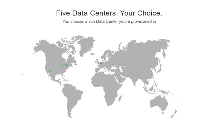 GreenGeeks' data centres are in Chicago, Phoenix, Toronto, Montreal, and Amsterdam.