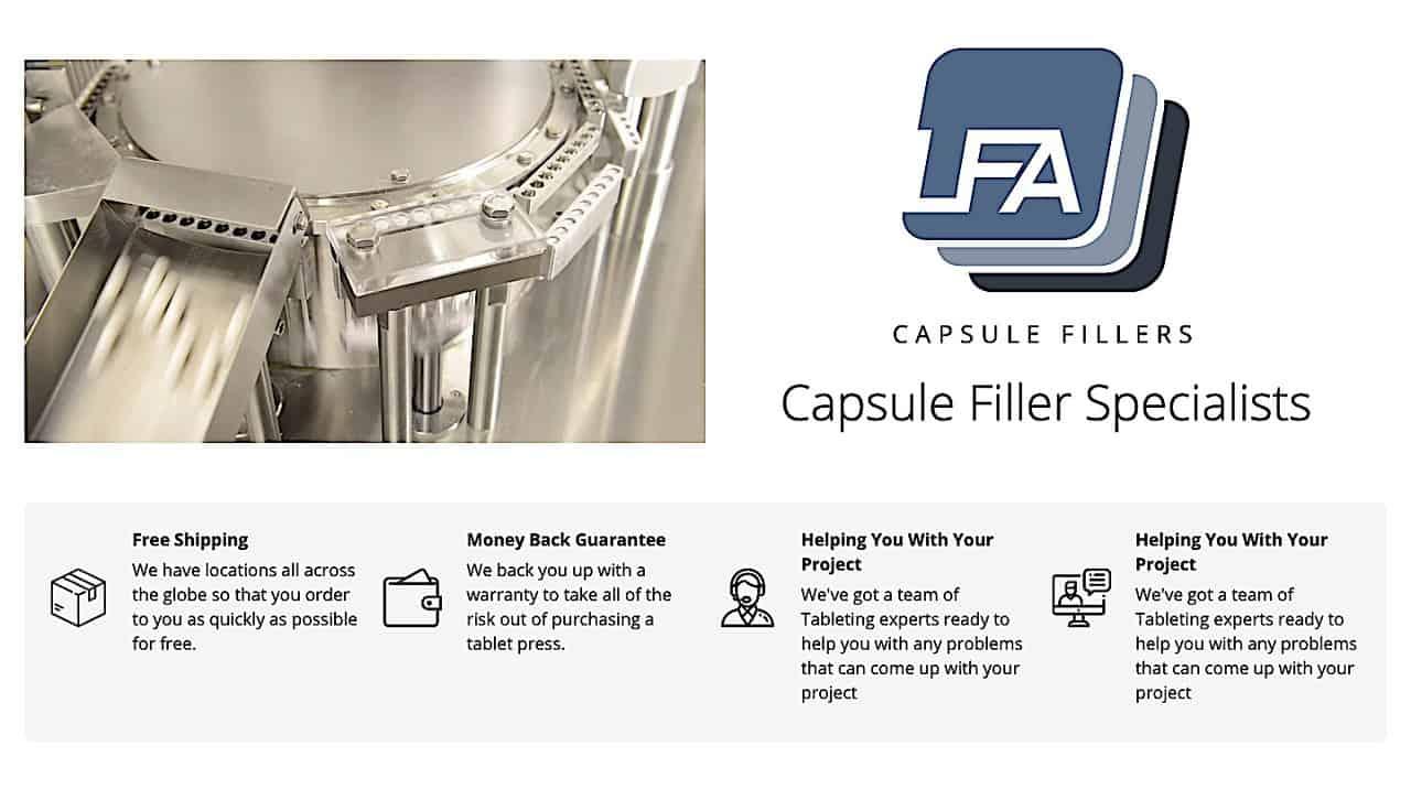 LFA Capsule Fillers Site