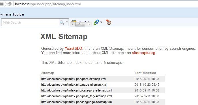 Set up XML sitemaps