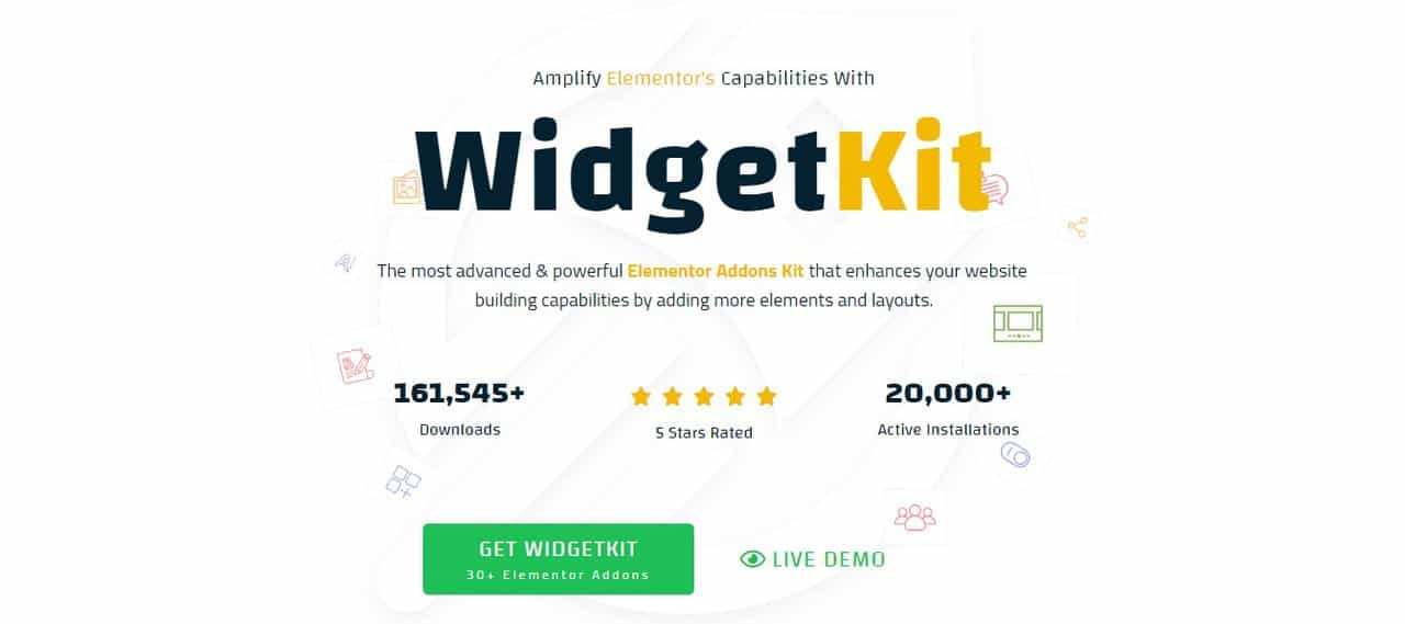 WidgetKit for Elementor