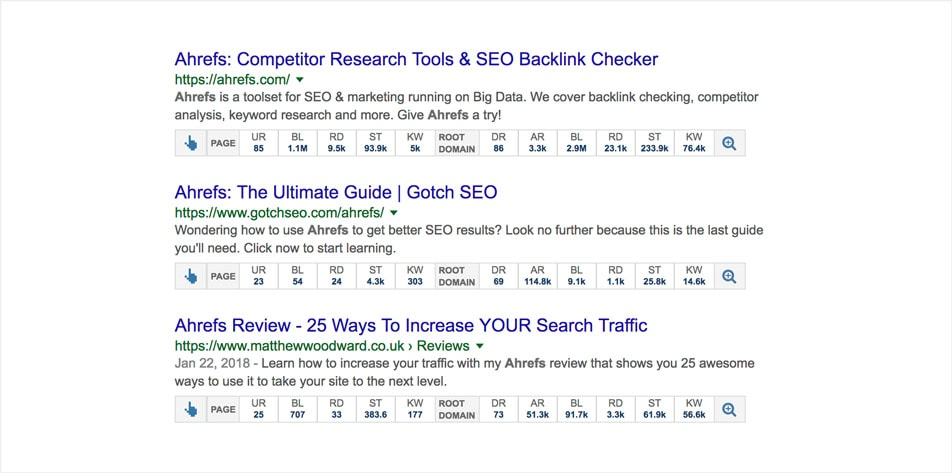 Ahrefs SEO Toolbar by Ahfers.com