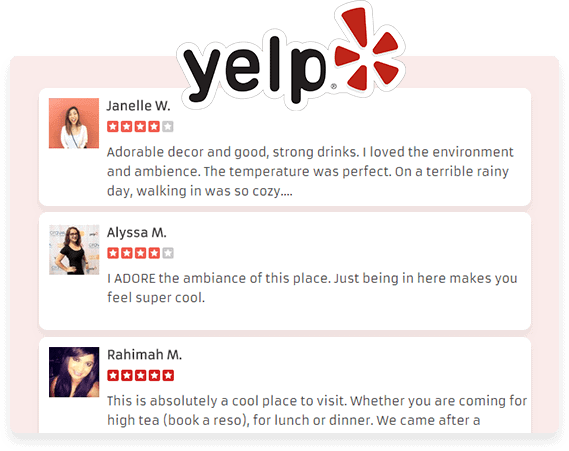 Compatibility with Yelp
