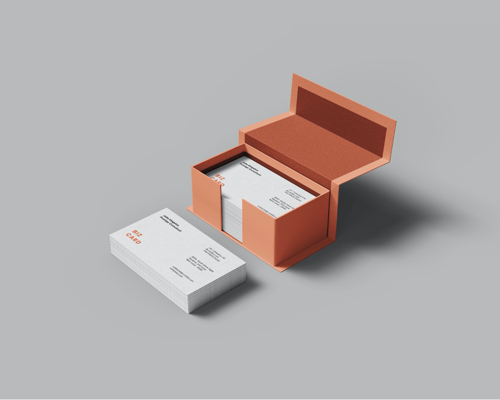 Business Card Mockup Templates Vol.2